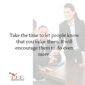 Value your people