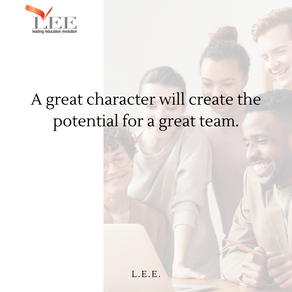 Character drives performance