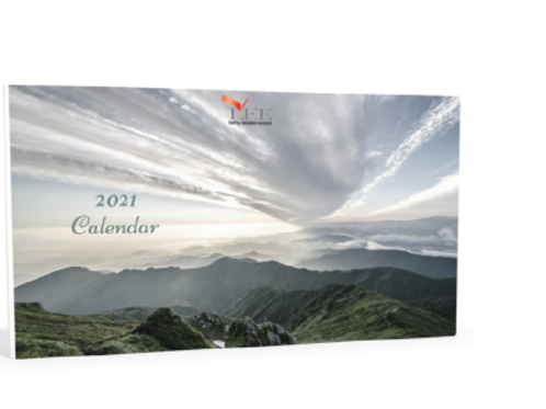 2021 Calendar - Nature
