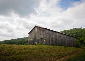 Beautiful Tobacco Barn resting on 64 + acres  with views of Ohio River.  Dover, KY