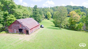 Beautiful Red Barn &  old log home with 100 acres in Eastern Tennessee.