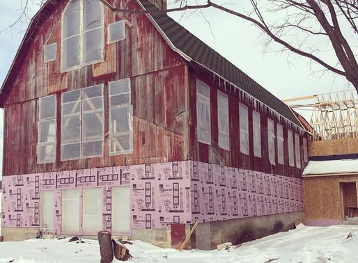 Saving a Barn in Wisconsin