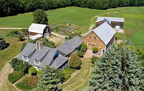 Attention Barn Venue Seekers! New England historic barns and stunning home for sale. 140+ acres Endless possibilities! Live Auction
