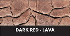 dark red lava
