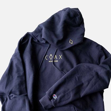 coax_champion_hoodie_navy_yellow
