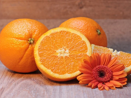 Frisk drik med C-vitaminer