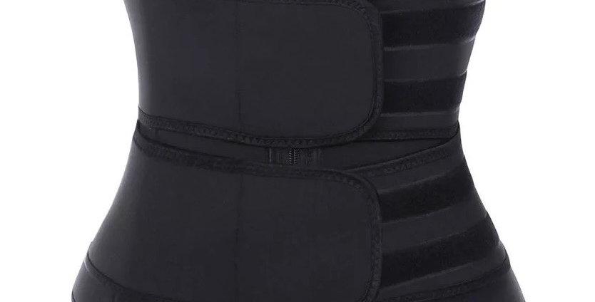 Medium Korsett Bodyshape Neoprene Waist Trainer 2 Belts