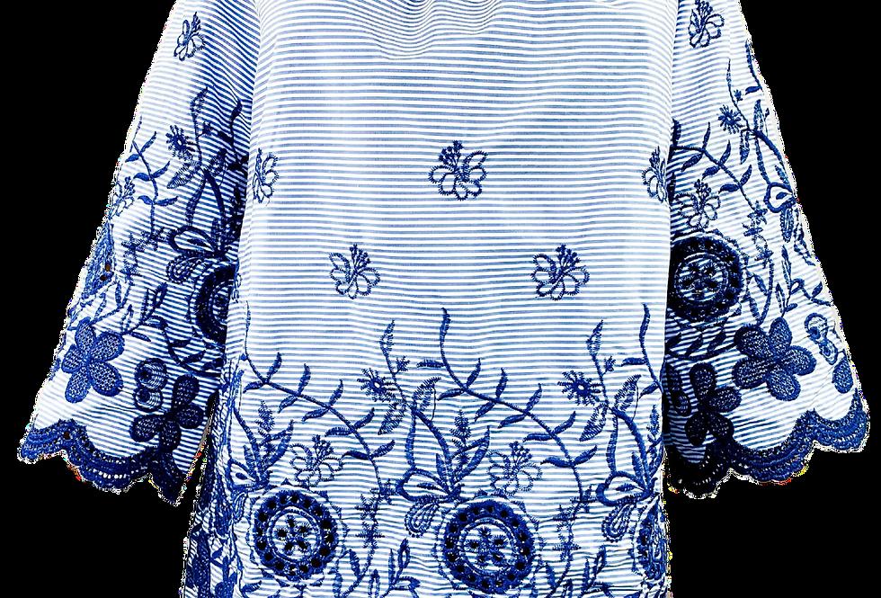 Hemd Blau Elegance Italy