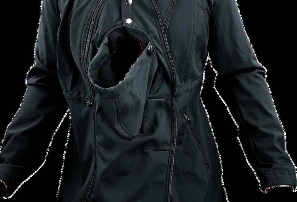 Softshell-Tragejacke / Umstandsjacke, weitenregulierbar bpc bonprix collection