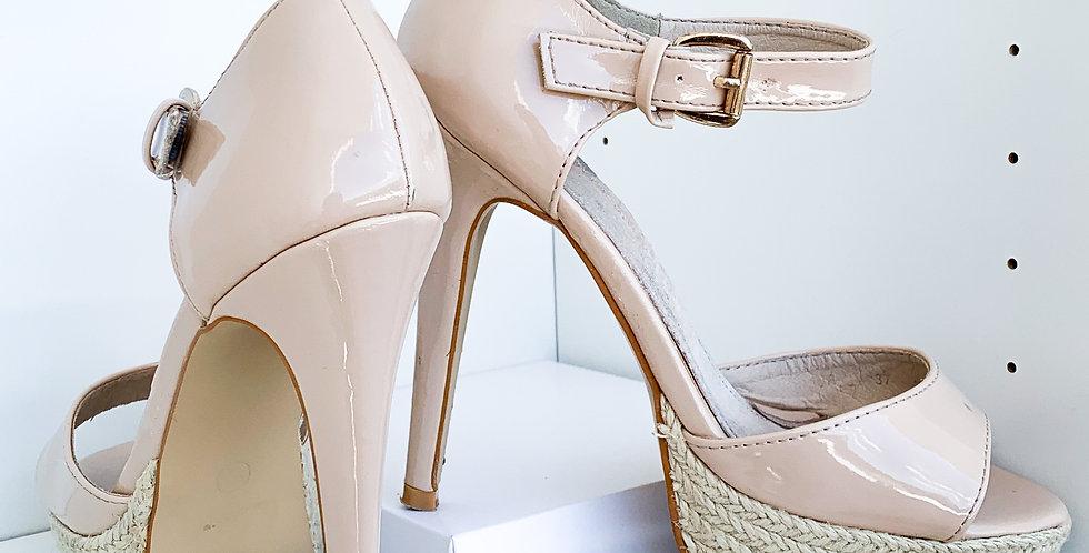 Leather High Heels Mio Mio - Große 37