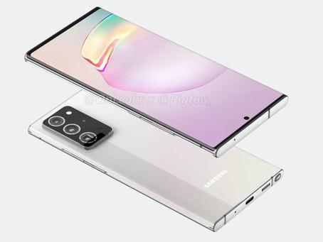 S Pen no Galaxy Note 20 poderá funcionar como ponteiro
