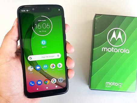 Moto G7 Play é atualizado para Android 10 no Brasil