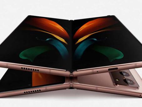 Samsung apresenta Galaxy Z Fold 2 com tela externa maior e nova dobradiça