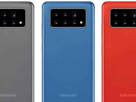 Samsung registra patente de novo Galaxy com seis câmeras