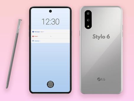 Novo LG Stylo 6 deve ser lançado em breve