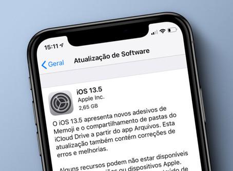 Apple lança o iOS 13.5, com recurso para ajudar no combate à Covid-19