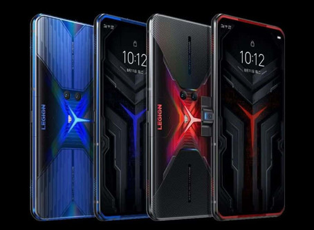 Lenovo lança celular gamer com câmera lateral pop-up e duas baterias