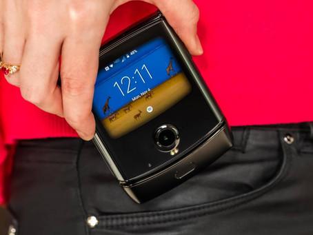 Motorola RAZR 2 pode chegar neste ano, e com 5G