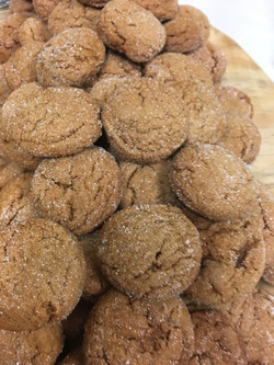 Sweet & Spicy Gingersnaps