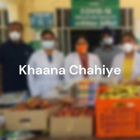 Khaana Chahiye