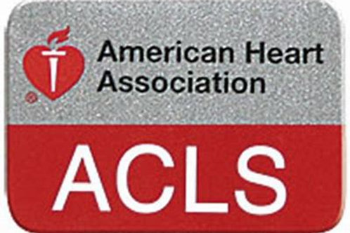 Tyler 5/22 ACLS Renewal Course w American Heart Instructor