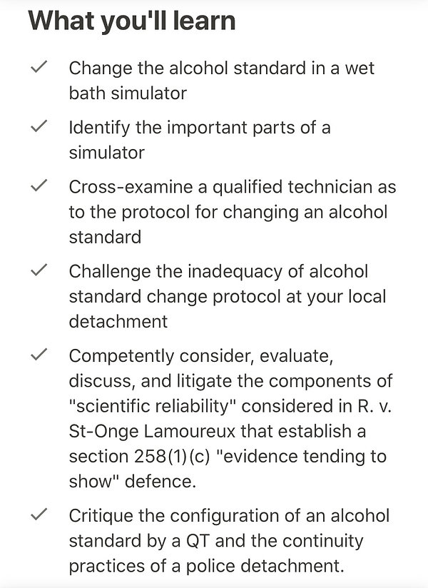 What you'll learn by taking the wet-bath simulators course