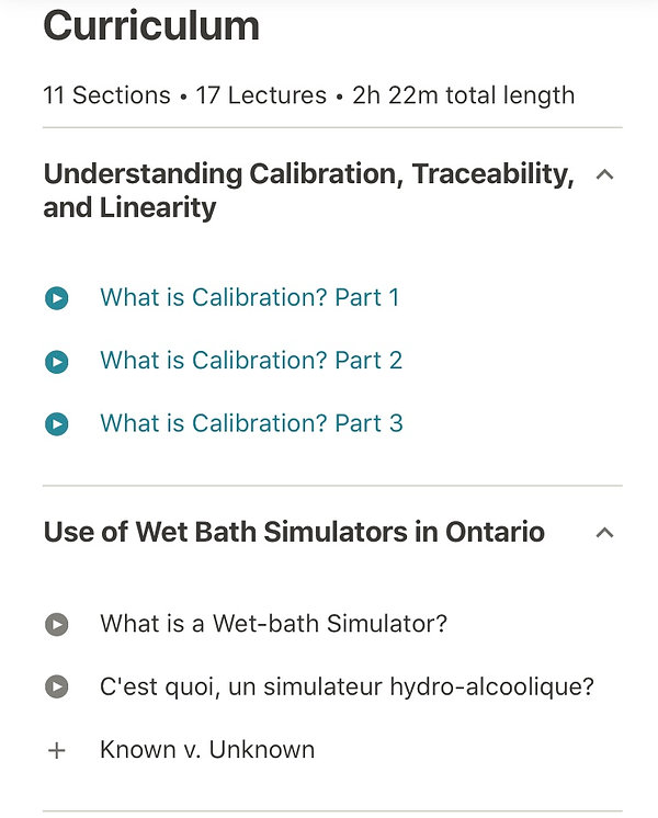 Curriculum of wet-bath simulator course