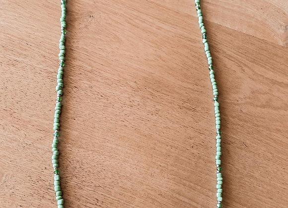 Correa verde manzana