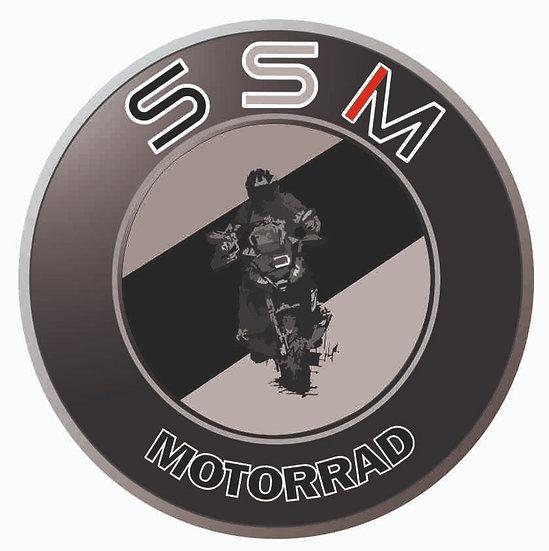 stickers résine SSM Triple black