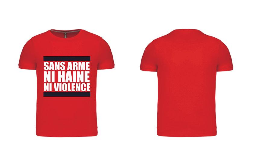 Tshirt officielle Kaotik Rouge