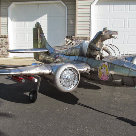 When Pigs Fly -They'll Fly a F7F Tiger Cat