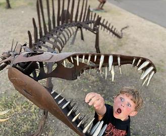 Scraposaurs and kid at AFS.PNG