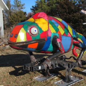 Junk Yard Chameleon