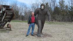 Salvaged Steel Sculptures