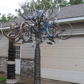 Bicycle Tree Two