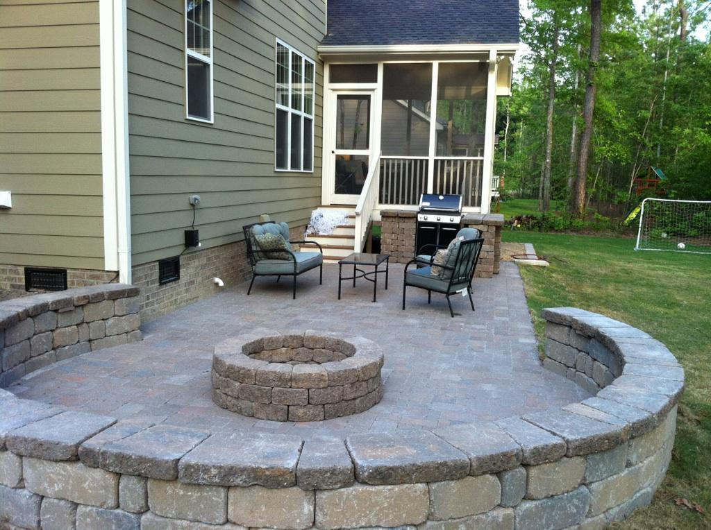 Stone Patio Remodel