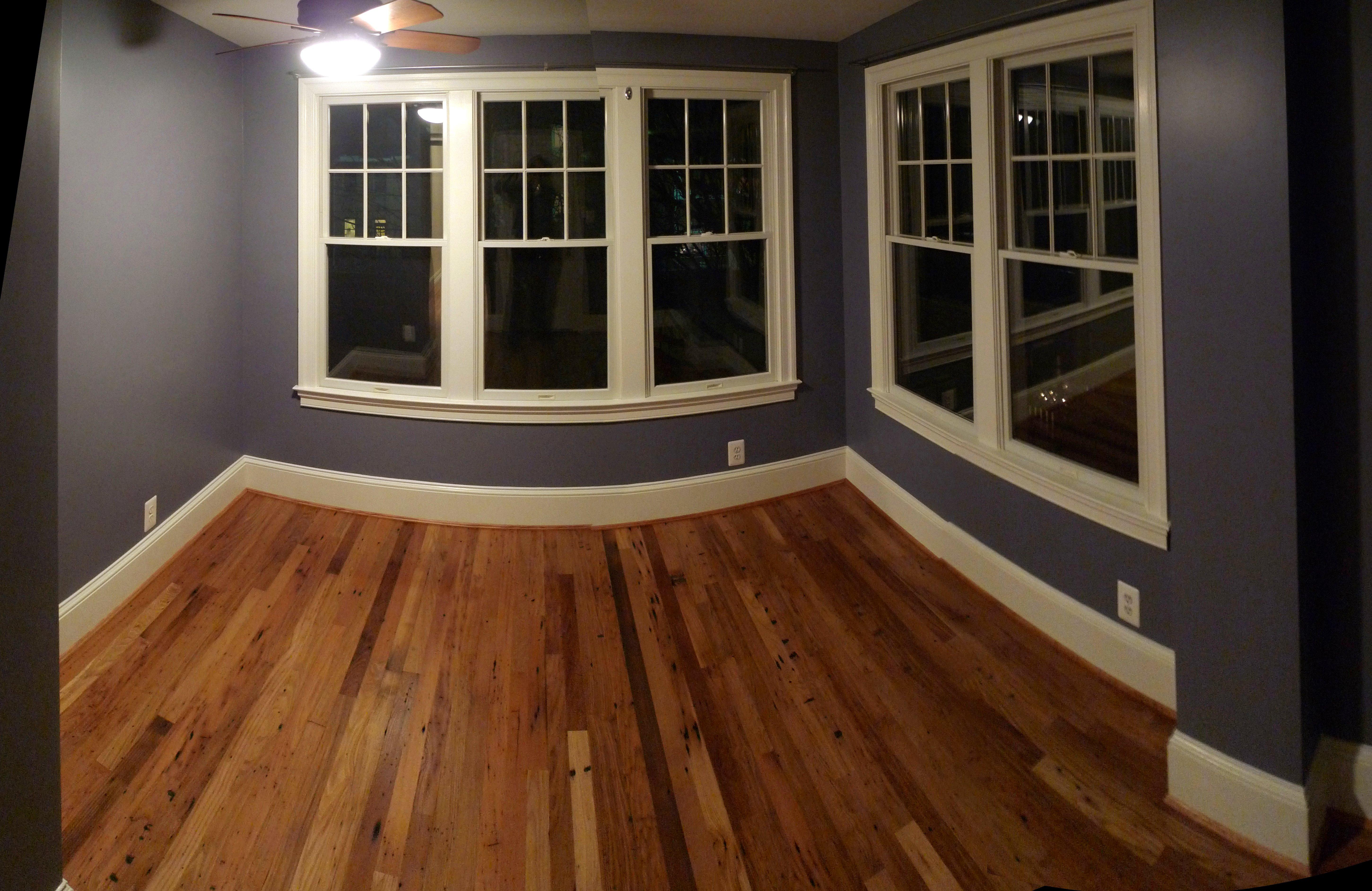 Hardwood floor with custom specifications