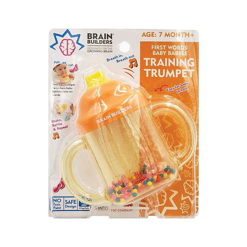 People Brain Builders® - First Words Baby Babble Training Trumpet