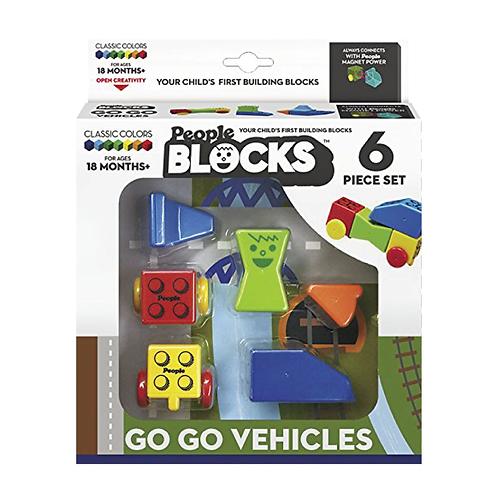 People Blocks® - Go Go Vehicle 6 pcs