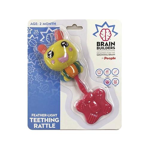 People Brain Builders® - Feather-Light Teething Rattle