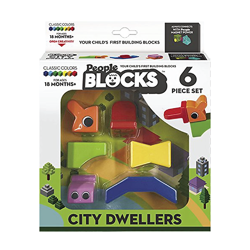 People Blocks® - City Dweller 6 pcs