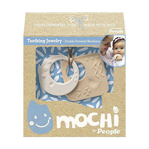People Mochi® - Mochi Teething Jewelry Double Pendant Necklace