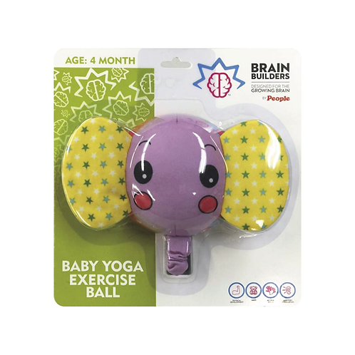 People Brain Builders® - Baby Yoga Exercise Ball