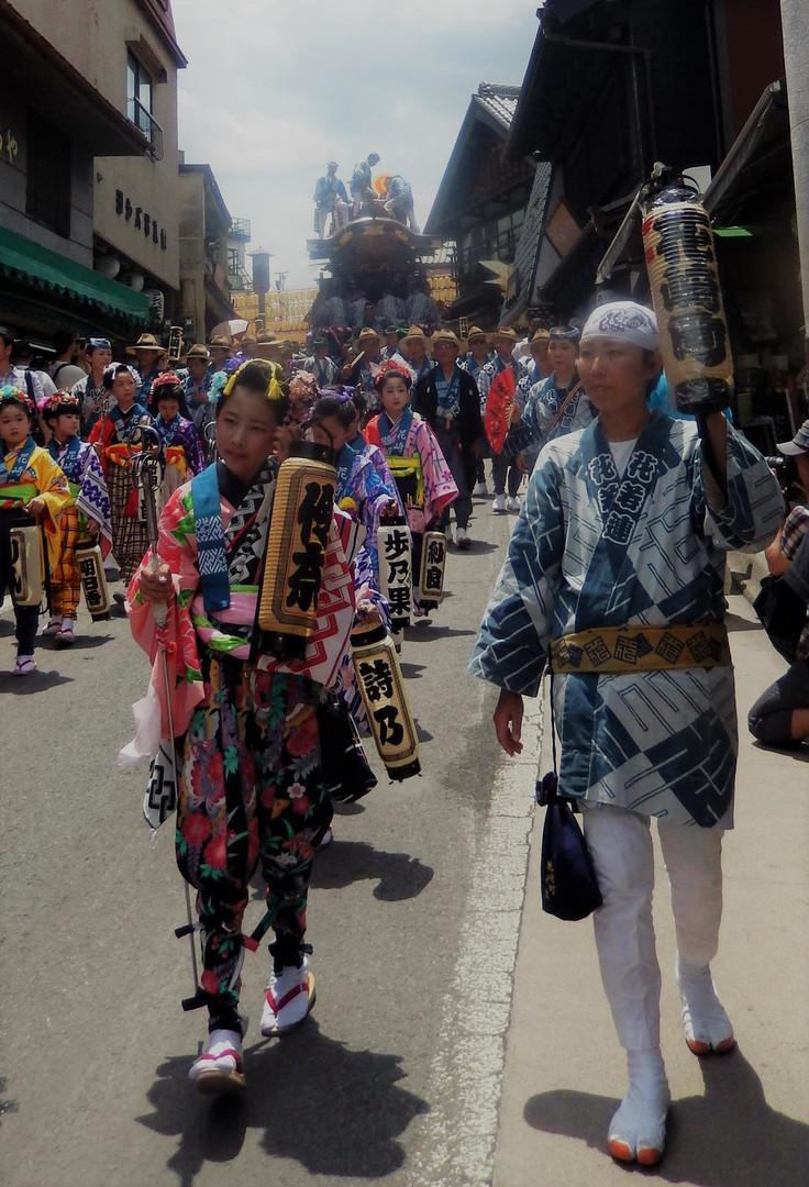 Gion Festival in Narita