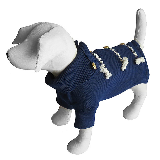 Nautical Dog Sweater