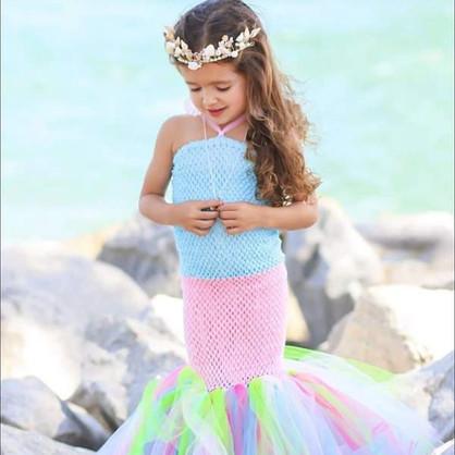 Girl's mermaid costume