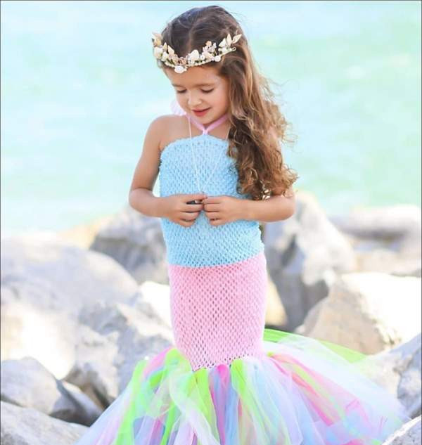 Girl's mermaid costume