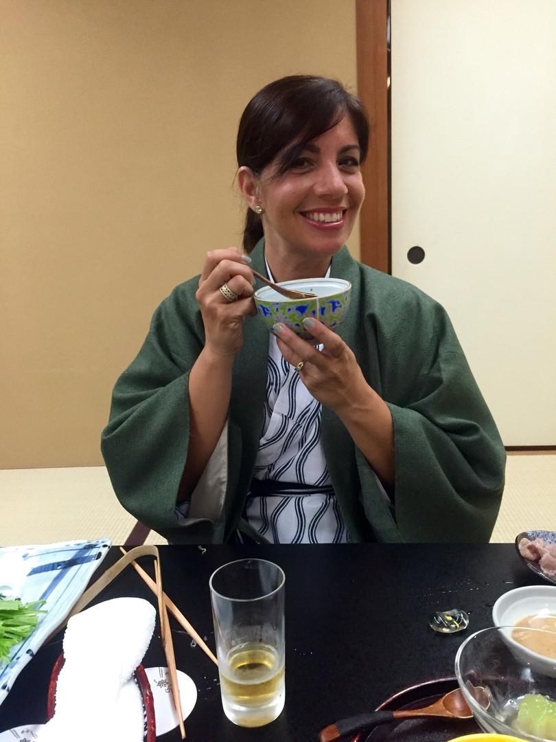 Enjoying miso