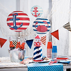 Nautical novelties for parties