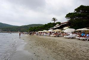 Malibu restaurant on the beach was great